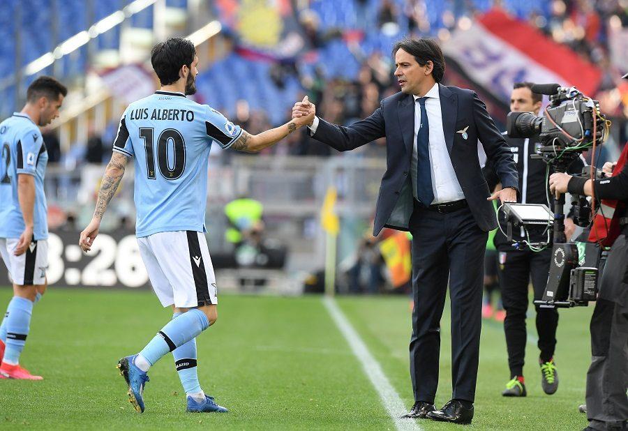Lazio Rome : Luis Alberto confirme pour une prolongation