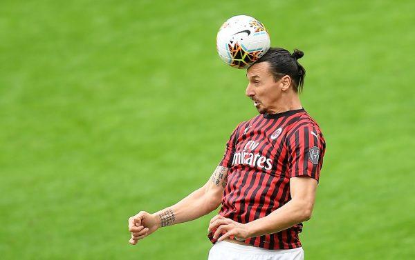 Zlatan Ibrahimovic a rechaussé les crampons