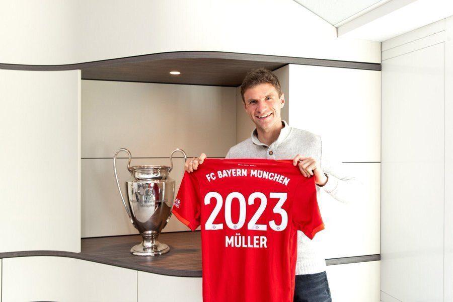 Officiel : Thomas Muller prolonge au Bayern Munich