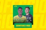 FC Nantes : le club annonce deux signatures pro