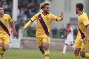 FC Bacelone : Konrad de la Fuente courtisé en Bundesliga