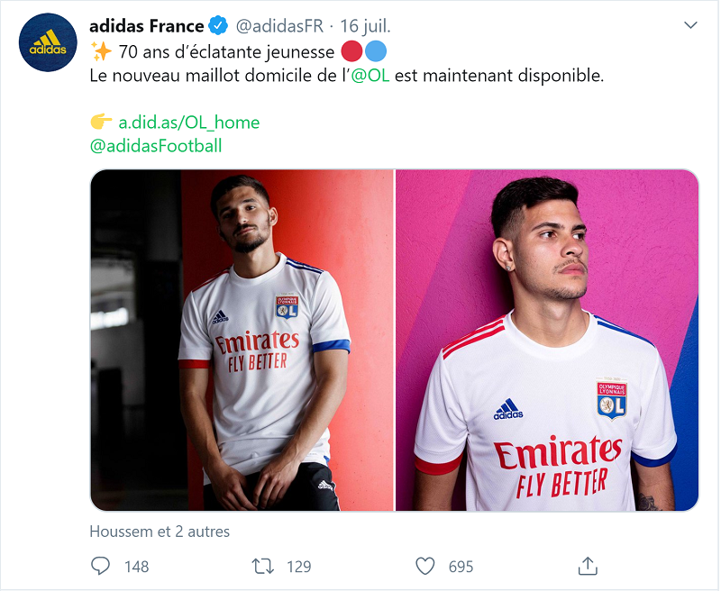 Les Maillots 2021 De Ligue 1 Et D Europe Maillots Foot 2020 2021