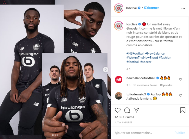 Les maillots 2020/2021 de Ligue 1 et d'Europe
