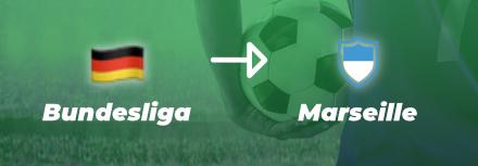 OM : un numéro 9 déniché en Bundesliga ?