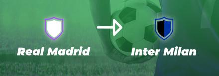 Inter Milan : un échange de joueurs avec le Real Madrid ?