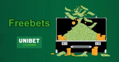 Unibet : les freebets en plus des 100€ offerts