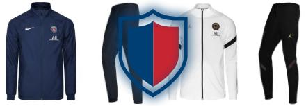 Nouveau survêtement PSG 2021, l'ensemble veste et jogging