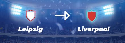 Ligue des Champions : cotes et pronostics RB Leipzig – Liverpool