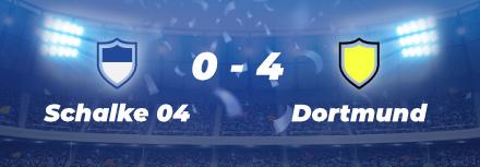 Dortmund enfonce Schalke