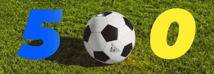Zlatan Ibrahimovic puissance 500
