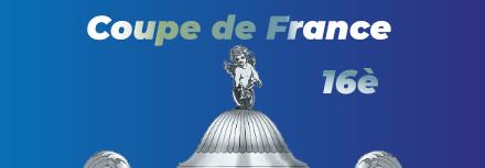 Coupe de France, les affiches des 16ème de finale