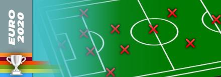Le onze des absents de l'Euro 2020