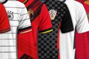 les plus beaux maillots de l'Euro 2021