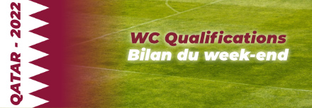 Qatar 2022 Qualifications : Les résultats du week-end