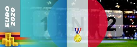 Toutes les cotes de la France vainqueur à l'Euro 2020 (2021)