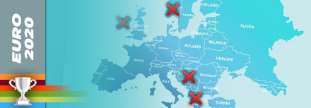Euro 2020 : Les nations qui seront absentes