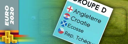 Pronostic Groupe D Euro 2020 (2021) : favoris, cotes et conseils