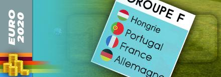 Pronostic Groupe F Euro 2020 (2021): favori et cotes pour bien parier
