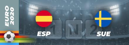Pronostic Espagne – Suède Euro 2021 : cotes et analyses pour parier