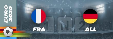 Pronostic France – Allemagne Euro 2021 : cotes et analyse