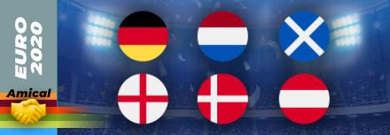Amicaux : Les Pays-Bas et l'Allemagne friables, l'Angleterre assure l'essentiel