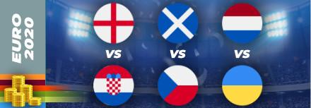 Pronostic Euro 2021 – 13 juin – les matchs du jour