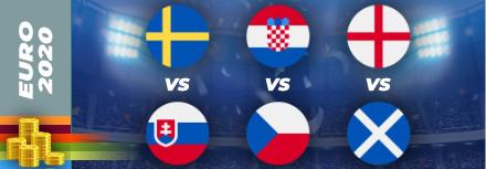 Pronostic Euro 2021 – 18 juin – les matchs du jour