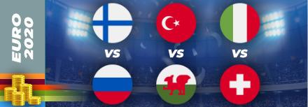 Pronostic Euro 2021 – 16 juin – les matchs du jour