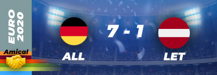 Allemagne – Lettonie : 7-1 carnage !