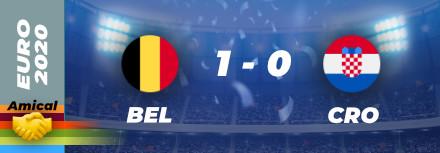 Amical : Des belges victorieux avant l'Euro
