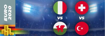 Pronostic Euro 2021 – 20 juin – Les matchs du jour
