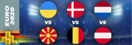 Pronostic Euro 2021 – 17 juin – les matchs du jour