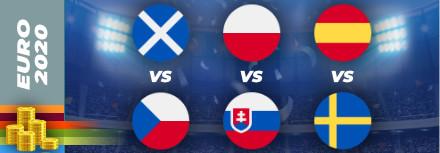 Pronostic Euro 2021 – lundi 14 juin – les matchs du jour