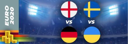 Pronostic Euro 2021 – 29 juin – Les matchs du jour