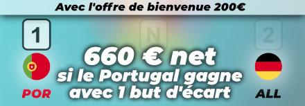 Pronostic Portugal – Allemagne Euro 2021: cotes et analyse pour parier