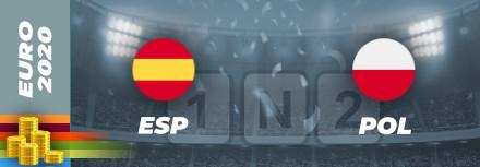 Pronostic Espagne – Pologne Euro 2021 : cotes et analyses
