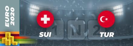 Pronostic Suisse – Turquie Euro 2021 : Cotes et analyses pour bien parier