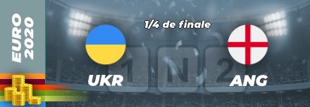 Quart de finale Euro 2021 : Pronostic Ukraine Angleterre, cotes et analyse pour parier