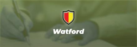 Officiel : Watford annonce une nouvelle recrue