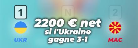 Euro 2021: Pronostic Ukraine-Macédoine du Nord, cotes, paris gratuits et conseils