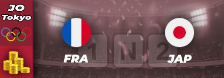 JO 2021 : pronostic France-Japon cotes et analyse pour parier