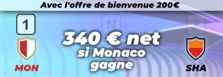 Pronostic pour parier sur Monaco – Shakhtar, barrages LDC – 17/08/21 – cotes et conseils