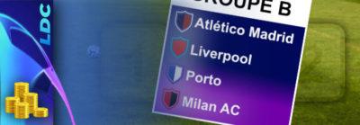 Pronostics Groupe B – Ligue des Champions – cotes, paris et conseils