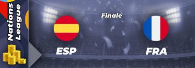 Pronostic Espagne – France, finale Ligue des nations – 10/10/21
