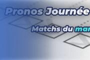 Pronostic Ligue des champions – 3ème journée – Matchs du mardi 19 octobre 2021